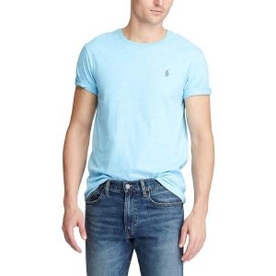 ラルフローレン メンズ Tシャツ トップス Men's Classic Fit Jersey T-Shirt Watchhill Blue Heather