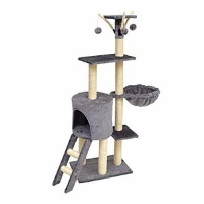 HXGL-キャットタワー キャットタワークライミングフレーム猫スクラッチポス(中古品)