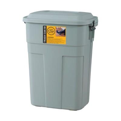 ゴミ箱 50L グリーン ダストボックス ごみ箱 ごみばこ ペールボックス ガレージ エクステリア
