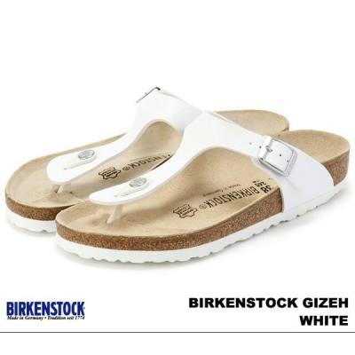 ビルケンシュトック ギゼ メンズ レディース サンダル ホワイト BIRKENSTOCK Gizeh 043731 White 幅広