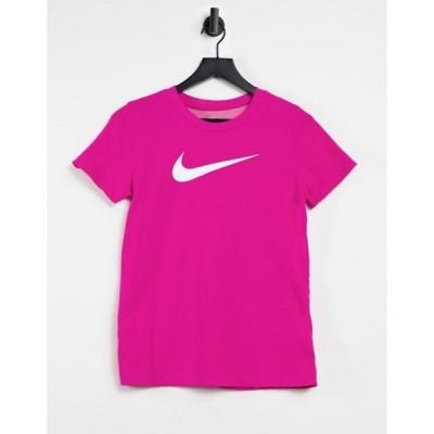 ナイキ レディース シャツ トップス Nike Training Dry t-shirt in pink