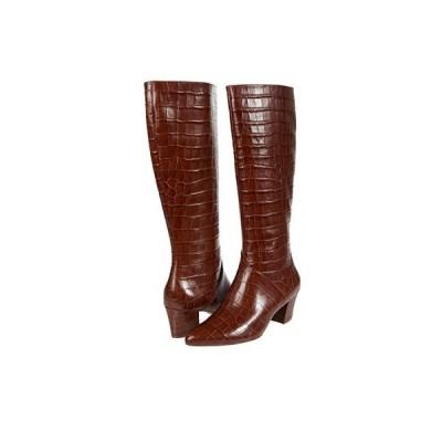 ナチュラライザー Melanie Regular Shaft レディース ブーツ Lodge Brown Croco Print Leather