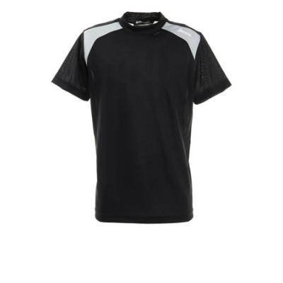 配色切り替え半袖モックネックシャツ RGMRJA05-BK00