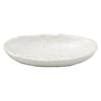 (業務用・楕円皿)白粉引 4.5小判皿[51928-028](入数:5)