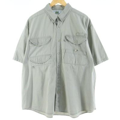 RUGGED WEAR 半袖 フィッシングシャツ メンズXL /eaa019952