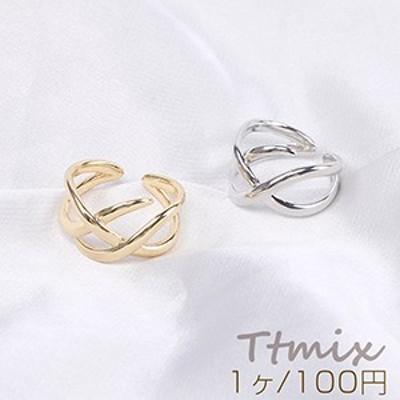 デザインリング 指輪 幅約14mm(1ヶ)