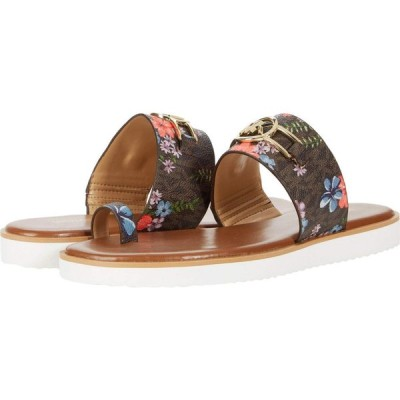 マイケル コース MICHAEL Michael Kors レディース サンダル・ミュール シューズ・靴 Tracee Sandal Brown