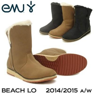 エミュー オーストラリア(EMU Australia) ビーチ ロー(BEACH LO) シープスキン ムートンブーツ【2014/2015 秋冬】[CC]