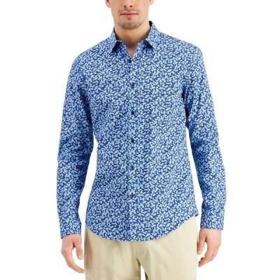 アイエヌシーインターナショナルコンセプト メンズ シャツ トップス INC Men's Brit Ditsy Shirt