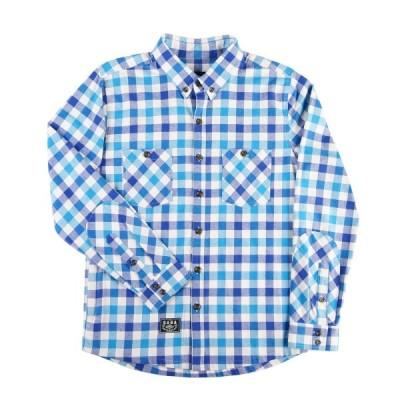 カジュアル シャツ Saga Life Flannel Shirt メンズ ユニセックス FlannelBlue