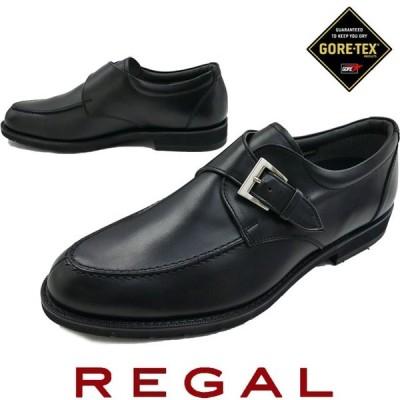 リーガル REGAL 靴 メンズ ビジネスシューズ 34NR モンクストラップ フォーマル 日本製 ゴアテックス