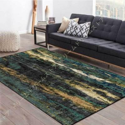ラグ ラグマット カーペット 絨毯 北欧 洗える おしゃれ ウォッシャブル 春 夏 秋 冬 床暖房対応 デザイン 大人 かわいい ナチュラル グリーン 長方形