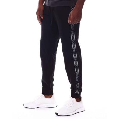 カルバンクライン Calvin Klein メンズ ジョガーパンツ ボトムス・パンツ athleisure logo band jogger Black