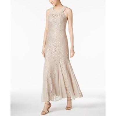 アールアンドエムリチャーズ レディース ワンピース トップス Embellished Lace Gown