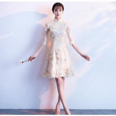 花嫁ドレス パーティードレス Wedding Dress ウエディングドレス ミニドレス 二次会ドレス 結婚式 演奏会 披露宴ドレス ドレスフォーマル