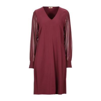 リュー ジョー LIU •JO ミニワンピース&ドレス ボルドー 42 レーヨン 96% / ポリウレタン 4% ミニワンピース&ドレス