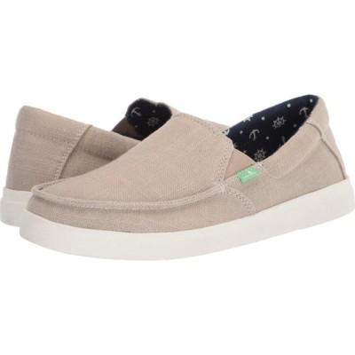 サヌーク Sanuk メンズ シューズ・靴 Sideline Linen 2 Natural