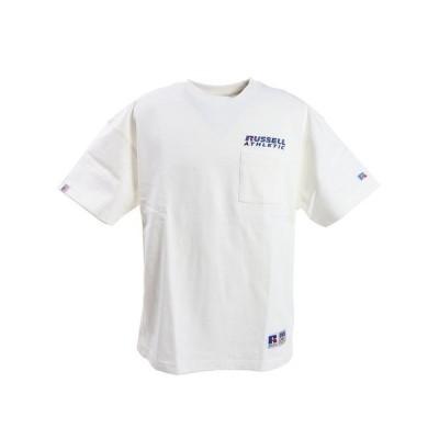 ラッセル(RUSSELL) PRO USA/BIGTEE ポケットTシャツ RBM20S0005 WHT (メンズ)