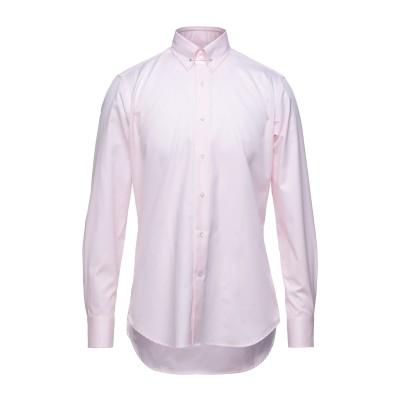 タリアトーレ TAGLIATORE シャツ ピンク 40 コットン 100% シャツ