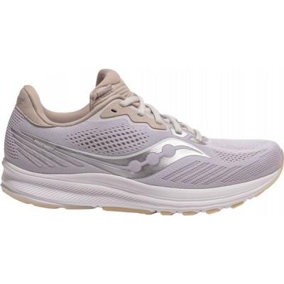 サッカニー Saucony メンズ ランニング・ウォーキング シューズ・靴 Ride 14 Running Shoes White/Silver