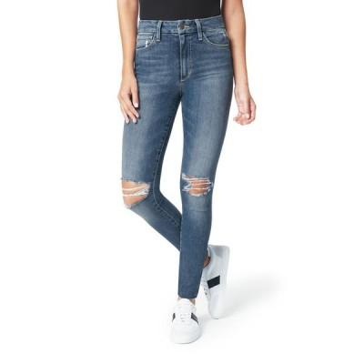 ジョーズジーンズ レディース デニムパンツ ボトムス The Hi Honey Ankle Jeans with Knee Rip