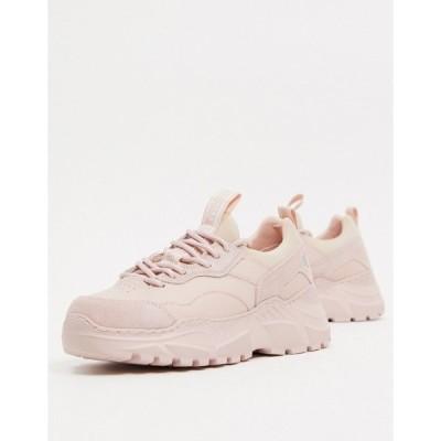 スケッチャーズ レディース スニーカー シューズ Skechers B-Rad sneakers in mauve Light pink
