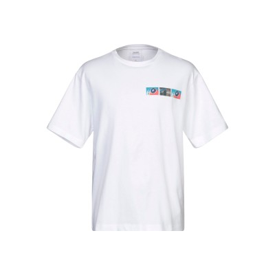 YOOX - CALVIN KLEIN JEANS T シャツ ホワイト L コットン 100% T シャツ