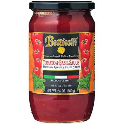 ボッティチェッリ トマト&バジル 680g