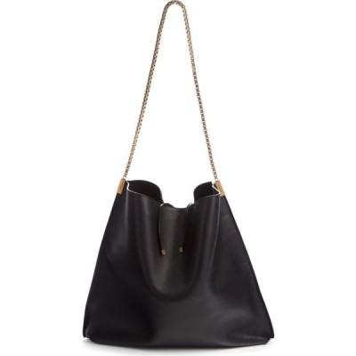 イヴ サンローラン SAINT LAURENT レディース ショルダーバッグ バッグ Suzanne Calfskin Leather Hobo Noir