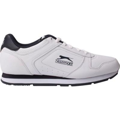 スラセンジャー Slazenger メンズ スニーカー シューズ・靴 Classic Trainers White/Navy
