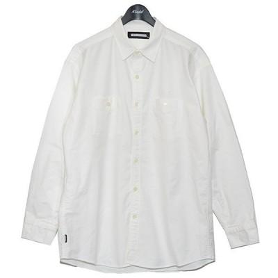 【7月19日値下】NEIGHBOR HOOD 2021SS CLASSIC OX C-SHORT LS オックスフォードシャツ ホワイト サイズ:M