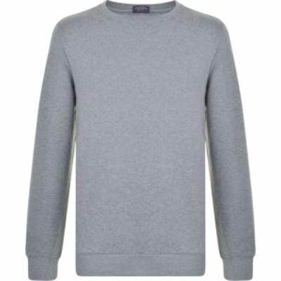 ポール シャーク Paul And Shark メンズ スウェット・トレーナー トップス Long Sleeved Sweatshirt Grey