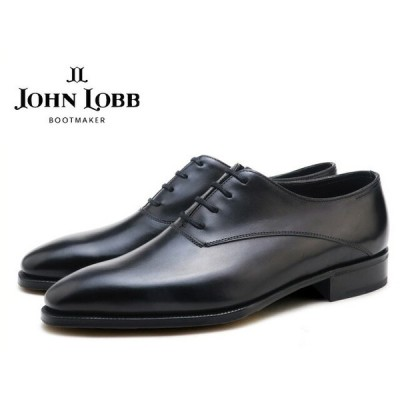 ジョンロブ ベケッツ ブラック ホールカット オックスフォードシューズ プレステージソール イギリス製 メンズ ビジネス ドレス JOHN LOBB BECKETTS BLACK WHO…