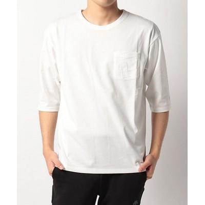 <DESCENTE/デサント>【メンズ】【DESCENTE DAYS】5分袖シャツ WH【三越伊勢丹/公式】