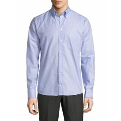イートン Men Clothing Cotton Sportshirt