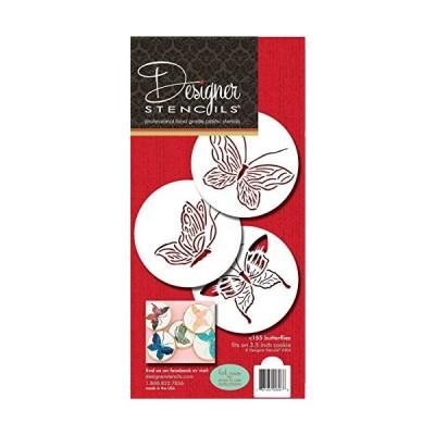 Designer Stencils Butterfly Cake Stencils[並行輸入品]