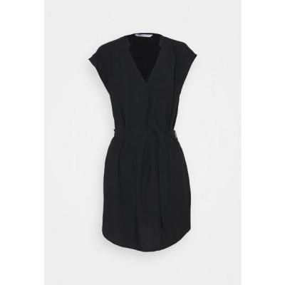 オンリー レディース ファッション ONLJOSEY V NECK DRESS - Day dress - black