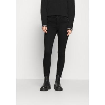 ヴェロモーダ レディース デニムパンツ ボトムス VMTILDE ANKLE ZIP  - Jeans Skinny Fit - black denim black denim
