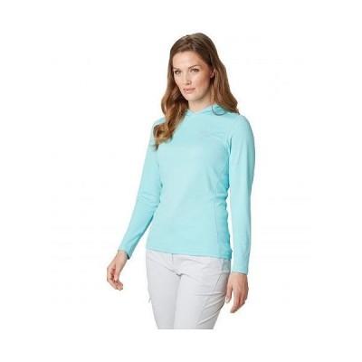 Helly Hansen ヘリーハンセン レディース 女性用 ファッション パーカー スウェット Lifa Active Solen Hoodie - Glacier Blue