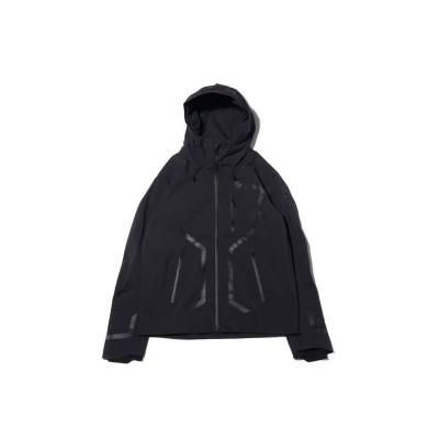 【アトモス】 デサント オルテライン ストリームライン ハード シェル ジャケット メンズ ブラック L atmos