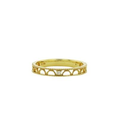 指輪 レディース リング ダイヤモンド 10金 イエローゴールド K10 0.01ct ESTELLE エステール 母の日 ギフト 普段使い