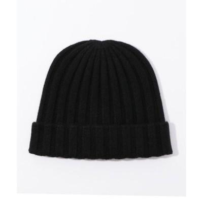 帽子 キャップ リサイクルカシミヤビーニー AREC0475