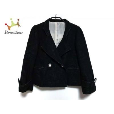 ドゥクラッセ DoCLASSE コート サイズ13 L レディース 黒 ショート丈/冬物   スペシャル特価 20210107