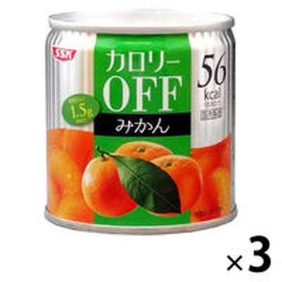 清水食品清水食品 カロリーOFF みかん 3缶