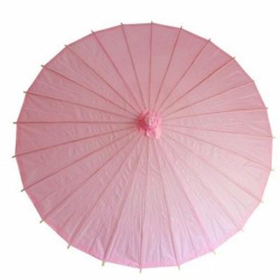 和傘 日傘 無地 直径84cm (桜) コスプレ イベント 飾り 小道具 撮影