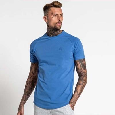 Bee Inspired Clothing(ビーインスパイアードクロージング) ロゴ Tシャツ - パウダーブルー トップス 半袖 日本未入荷 インポートブランド ウェア