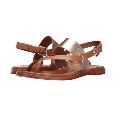 Cole Haan コールハーン レディース 女性用 シューズ 靴 サンダル Anica Thong Sandal - Pecan Rose Gold Metallic