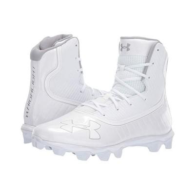 アンダー アーマー UA Highlight RM メンズ スニーカー 靴 シューズ White/Metallic Silver