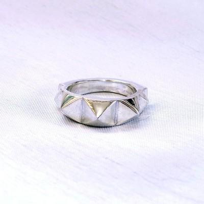 指輪 スタッズリング 【Ridgeline】 リッジライン スタッズ パンク ハードコア