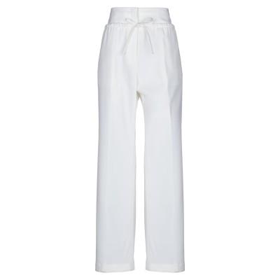 ジル サンダー JIL SANDER パンツ ホワイト 36 ポリエステル 55% / ウール 45% パンツ